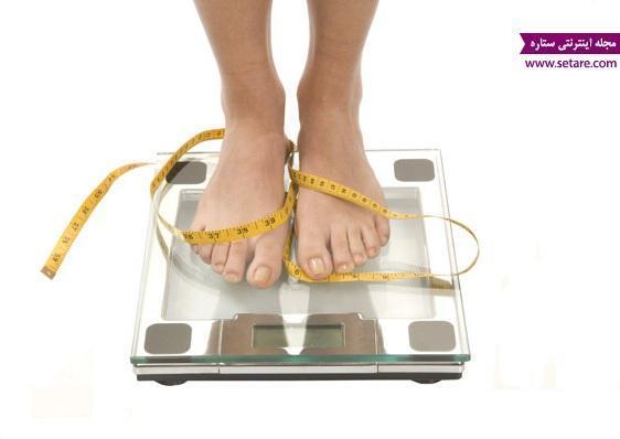 کاهش وزن با استفاده از رژیم غذایی مناسب