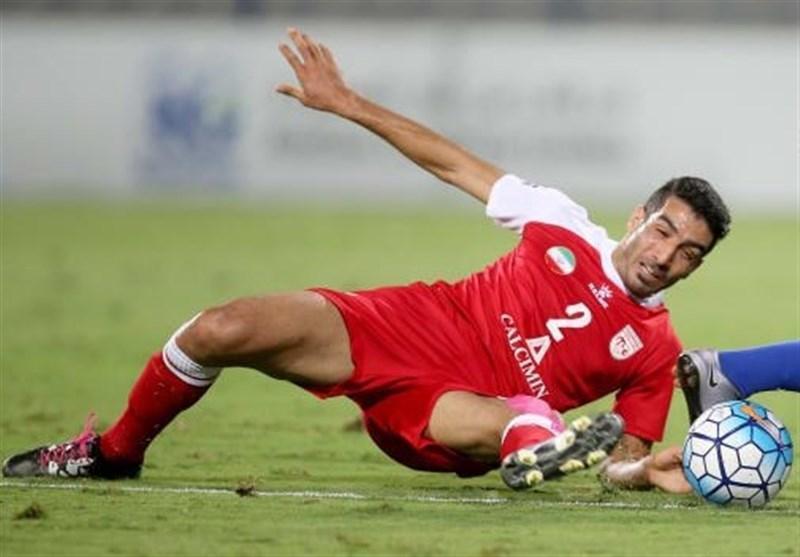 ایرانپوریان نامزد عنوان بهترین مدافع راست لیگ قهرمانان آسیا در سال 2016
