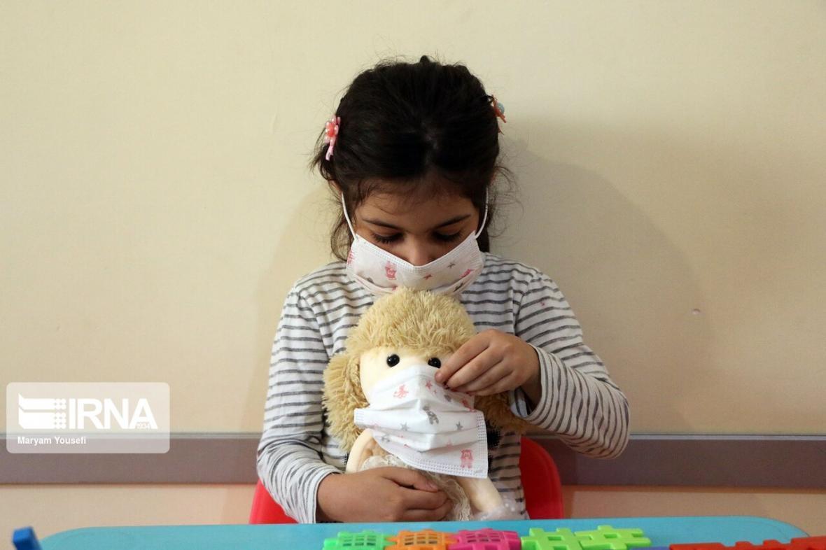خبرنگاران سایه غول کرونا بر سر مهدهای کودک قزوین